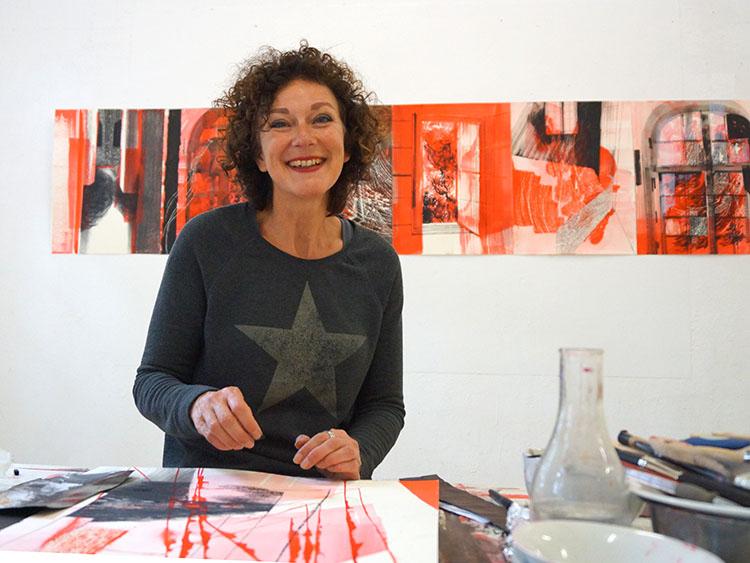 Mieke de Haan, beeldend kunstenaar